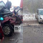 В Татарстане в лобовом столкновении погиб пассажир «Лады» из Кировской области