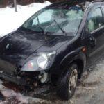 В Кирово-Чепецком районе на трассе перевернулся «Форд»