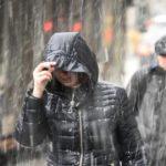 В Кировской области объявлено метеопредупреждение: ожидается сильный ветер и мокрый снег