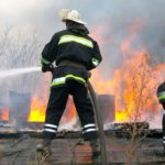 В Уржумском районе горел склад с 20 тоннами древесного угля