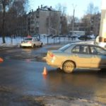 В Кирове водитель «Mitsubishi» сбил 7-летнюю девочку