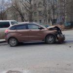 В Кирове столкнулись четыре автомобиля: один человек получил травмы