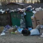 В Подосиновском районе поселок утопает в мусоре
