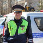 Вятскополянский инспектор спас жизни людей во время пожара