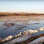В южных районах области на Вятке начался ледоход