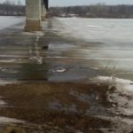 В Советском районе погиб мужчина, провалившись на мотобуксировщике под лед