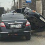 В Кирове столкнулись «Ниссан» и «ВАЗ»