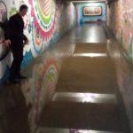 В Кирове вода затопила подземный переход