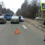 В Кирове водитель «Рено» сбил мужчину на пешеходном переходе: кировчанин госпитализирован