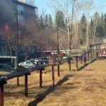 В Котельниче сгорела квартира в пятиэтажном доме