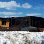 В Свече сгорел жилой дом