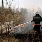В Кировской области за сутки пожарные трижды выезжали на тушение горящей травы