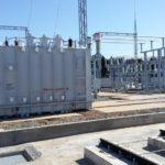 Кировэнерго: на строящейся подстанции «Урванцево» ведутся работы по монтажу первого трансформатора