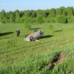 В Кильмезском районе водитель «Лады» погиб, опрокинув машину в кювет