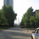 В Кирове иномарка сбила 7-летнюю девочку на пешеходном переходе
