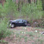 В Лебяжском районе водитель «Пежо» вылетел в кювет