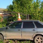 В Вятских Полянах водитель «Лады» опрокинулся в кювет