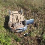 В Верхошижемском районе пьяный водитель ВАЗа опрокинулся в кювет