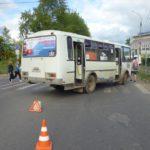 В Кирове автобус сбил пенсионерку