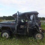 В Белохолуницком районе столкнулись УАЗ и грузовой автомобиль: один человек госпитализирован