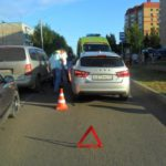 В Кирове водитель «Лады» сбил 8-летнего ребенка