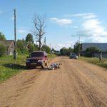 В Унинском районе госпитализирован 11-летний мальчик, врезавшийся на мопеде в автомобиль