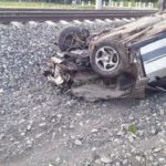 ГИБДД: Погибший от столкновения с поездом водитель «ВАЗа» не имел прав