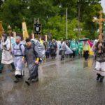В первый день паломники Великорецкого крестного хода дошли до Бобино