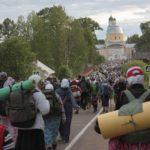 За третий день Великорецкого крестного хода потерялось 6 детей и эвакуировано 60 паломников