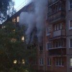 В Кирове сгорела квартира в пятиэтажном доме