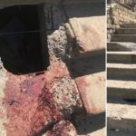 Аварийная лестница у кировского УФАС стала причиной черепно-мозговой травмы прохожего