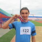 Воспитанник Мурыгинского детского дома завоевал золото Чемпионата России среди ЛИН по легкой атлетике