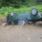 В Кирово-Чепецком районе пьяный водитель ВАЗа опрокинулся в кювет