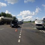 В Котельничском районе столкнулись «Форд» и «Шевроле»