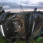 В Немском районе «Лада Веста» опрокинулась в кювет: погибли два человека
