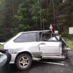 В Кировской области столкнулись «Шкода» и «ВАЗ»