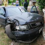 В Нолинске столкнулись «Ауди» и «УАЗ»: два человека госпитализированы