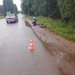 В Оричах 16-летний бесправник на мотоцикле сбил 6-летнего ребенка на велосипеде