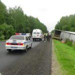 В Орловском районе в результате столкновения грузовика и легкового автомобиля погиб мужчина