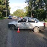 В Кирове столкнулись «Лада Гранта» и питбайк «Кайо»: пострадал 14-летний мотоциклист
