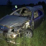 В Верхошижемском районе погиб водитель автомобиля, опрокинувшись в кювет