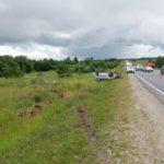 В Яранском районе на трассе погиб водитель «Гранты», перевернувшись в кювет