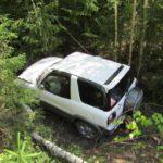 В Зуевском районе «Тойота» вылетела в кювет: госпитализирована 69-летняя женщина