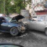 В Кирове произошло массовое ДТП с участием четырех машин