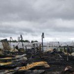 В Шабалинском районе на пожаре погибли четыре человека