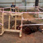 В Кирове мужчина провалился в 4-метровую яму