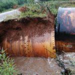 В Афанасьевском районе из-за дождевого паводка введен режим чрезвычайной ситуации