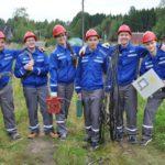 Студенческий отряд «Анкер» завершает работу на объектах «Россети Центр и Приволжье Кировэнерго»