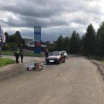 В Кирсе водитель «Нивы Шевроле» сбил женщину на велосипеде