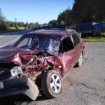 В Котельничском районе столкнулись «ВАЗ» и «УАЗ»: пострадали три человека, в том числе двое несовершеннолетних